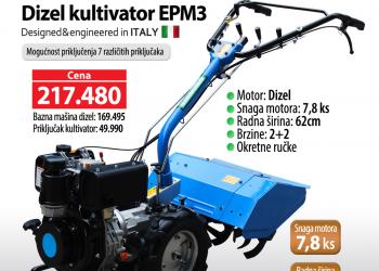 kultivator EPM3